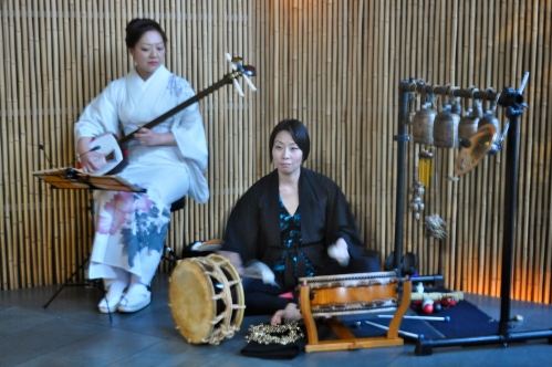 Japanese music at Sake No Hana
