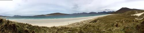 Luskentyre panorama, Isle of Harris, Outer Hebrides