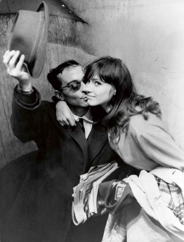 Jean-Luc Godard_Anna Karina_Paris. copyright Raymond Cauchetier, courtesy James Hyman Gallery, London