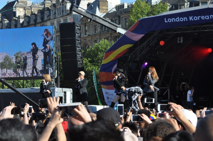 f(x) Trafalgar Square London