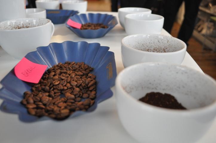 Funzings coffee tasting