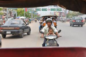 Siem Reap motorbike